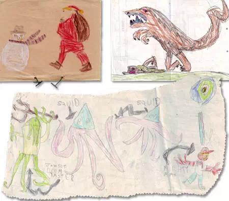一个爱画画男孩2岁到24成为艺术家的过程