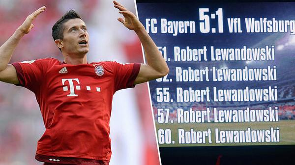 Lewandowski 5 Tore Sky