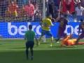 视频-梅西伤退苏亚雷斯双响 巴萨主场擒升班马
