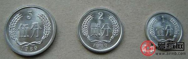 中国硬币五朵金花_硬币\