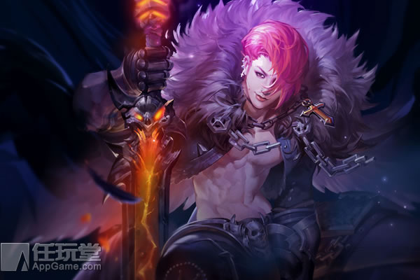 堕落天使路西法皮肤-暗狱剑神