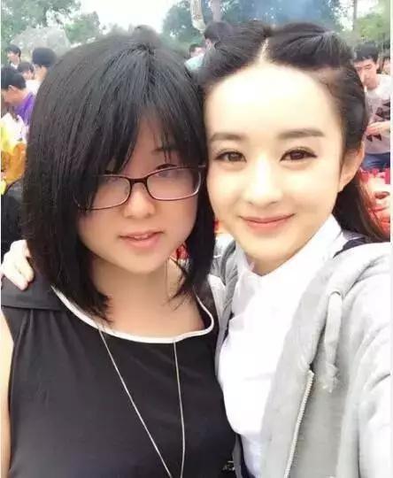 这是赵丽颖小时候的萌照吗?