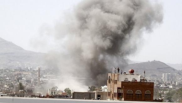 也门小村婚礼现场疑遭沙特联军空袭 至少30人丧生