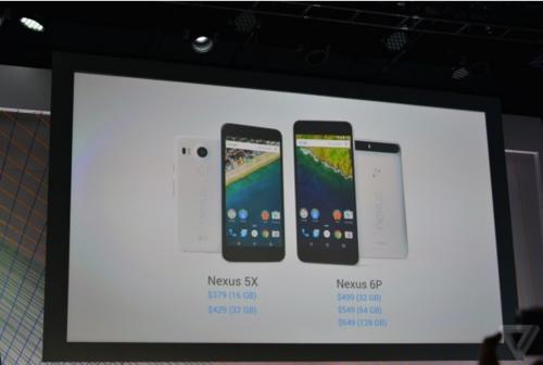 华为Nexus 6P发布:金属材质