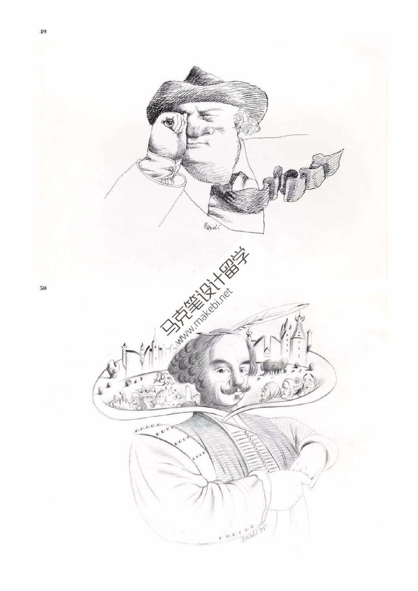 艺术留学,插画设计留学作品集图片