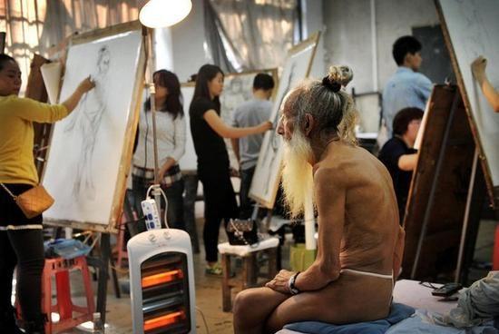 人体艺术有那些网站_男裸体模特:沉默着的艺术家们