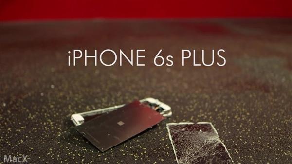 在第二个测试中,Rockhold对iPhone6