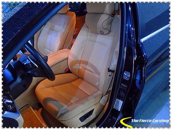 宝马5系前排座椅改装怡然座椅通风