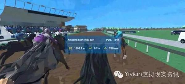 公司威廉希尔下注虚拟现实赛马