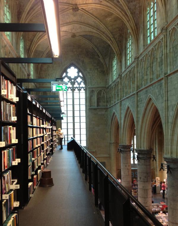 """被誉为世界最美书店之一的""""天堂书店""""。作者供图"""