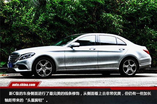 北京奔驰C200运动版 C180L C200L四驱 4S店