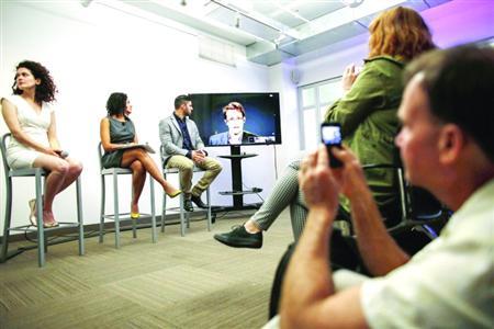 9月24日,斯诺登视频连线纽约,参加国际公约评论。
