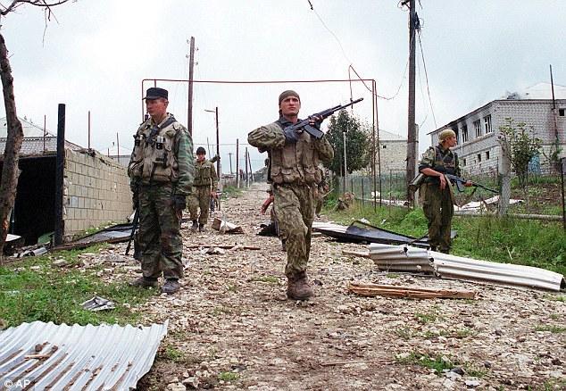俄罗斯Spetsnaz特种部队以作战骁勇著称。(图像来历:英国媒体)