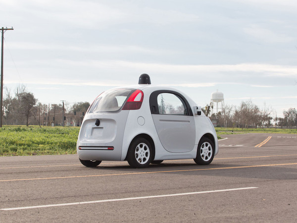 只是智能 体验Google无人驾驶汽车高清图片
