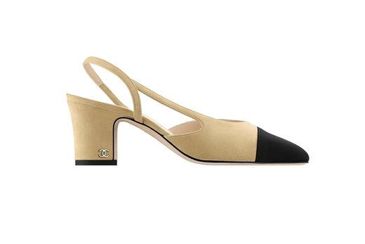 经典不败-Chanel 双色鞋