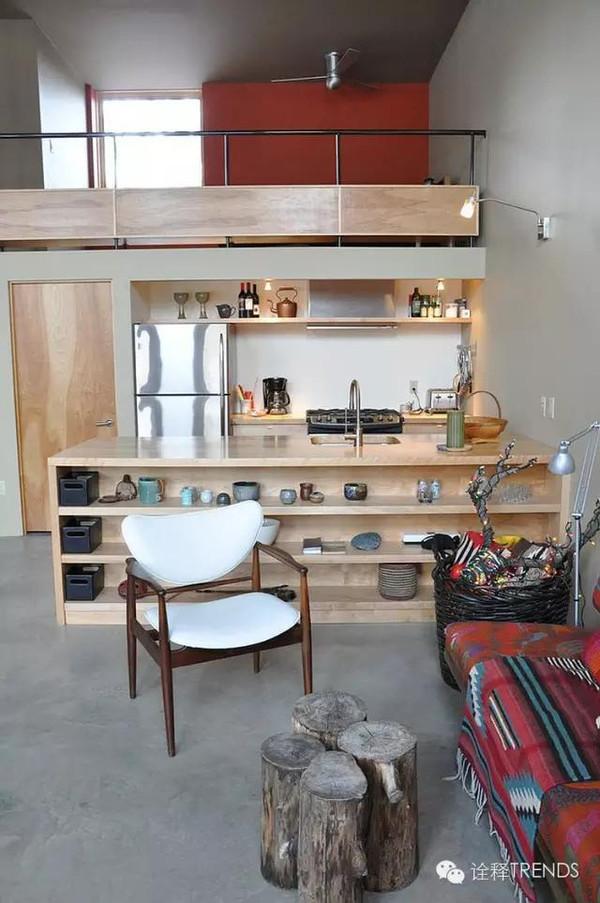 50款国外中岛厨房和开放式中岛柜设计