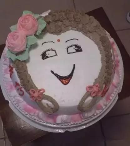 十二星座蛋糕师创作 黑暗系蛋糕