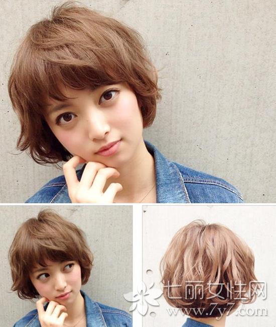 2015中短发最新发型女 适合不同脸形的中短发图片