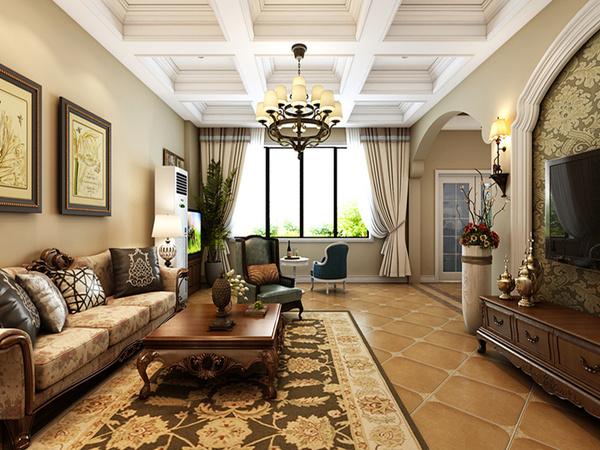 今天跟大家分享的是一套3室2厅2卫的 花园洋房装修设计效果图,结合