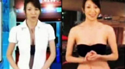 盘点主持人丑闻:sm萱萱不雅照 女主播直播时脱衣服