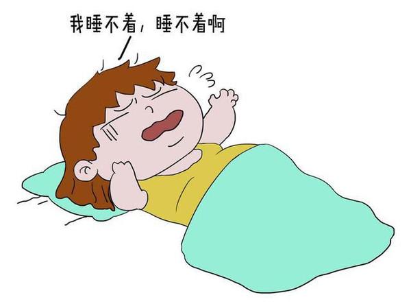 失眠。早早躺下想要睡觉,可越躺越精神,半夜一两点还睡不着,着急睡眠不好会影响到肚子里的孩子,越急越睡不着,越睡不着越急........