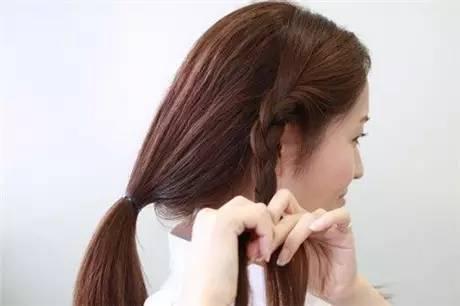 送给你长发变短发的扎法教程图片