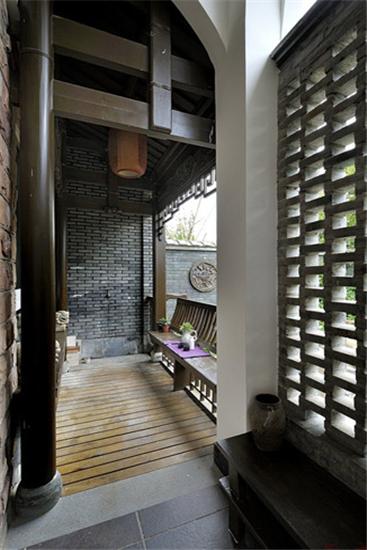 高端中式别墅装修设计效果图展示图片