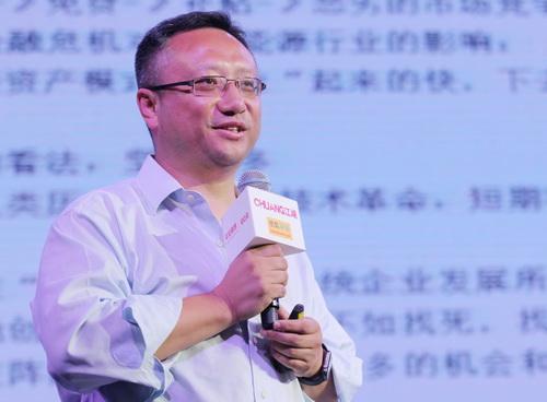 王钧在Chuang江湖活动演讲现场