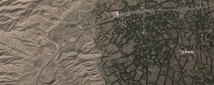 卫星地图来源于谷歌地球
