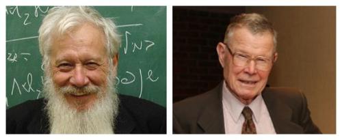 罗伯特・奥曼(左)和托马斯・谢林