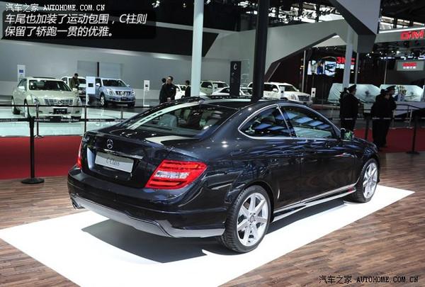 奔驰C180 Coupe双门轿跑车 北京4S店优惠5万