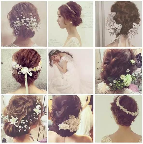 最美新娘发型,结婚不愁了