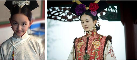 2013年,蒋依依在《宫缩沉香》中扮演赵丽颖饰演的坑姐妹心机女琉璃