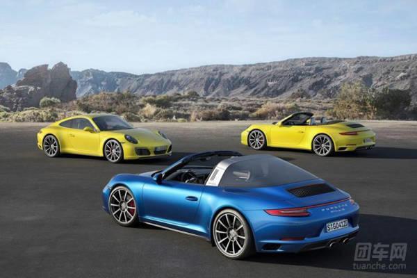 保时捷911 carrera/911 carrera cabriolet保持一致,动力方面的高清图片