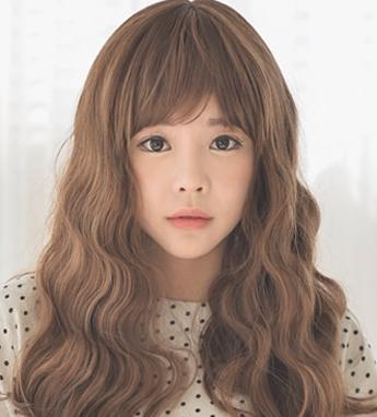 3,长发蛋卷头发型