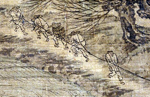 《清明上河图》的金人题跋。