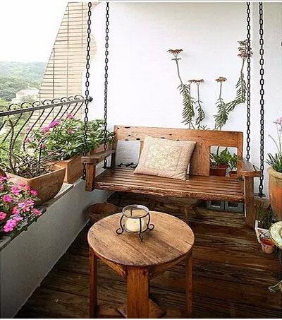 客厅阳台装修效果图