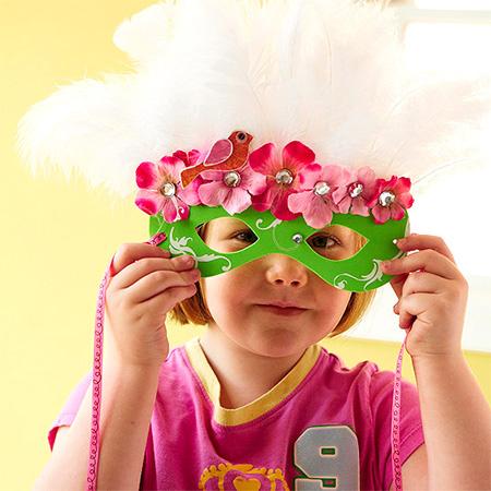 ol,最应景的万圣节面具都在这里了,带孩子做起