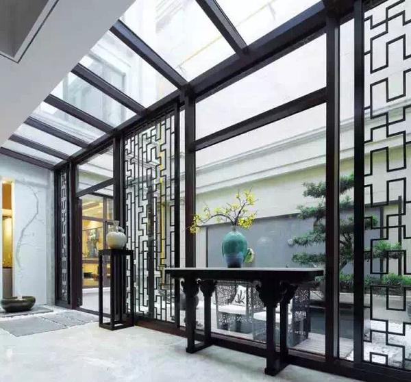 【简约中式】-华侨城别墅设计案例赏析