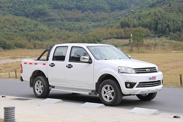 凯瑞胡洁2.8T柴油版将被列为类似汽车的皮卡