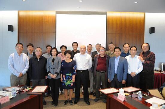 第一届中国广告名人堂推选暨终审会议全体成员合影留念