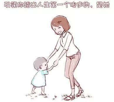 简笔画报答妈妈-个有思想深度的母亲 让孩子以后飞得更高
