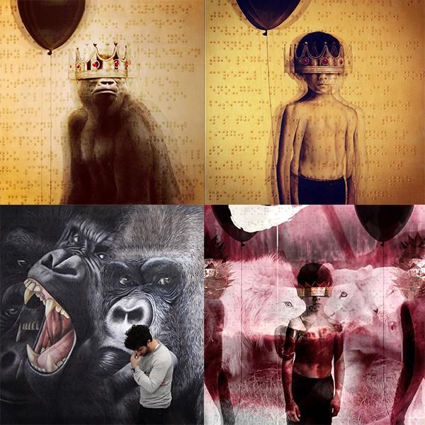 rihanna新专辑封面画风激变