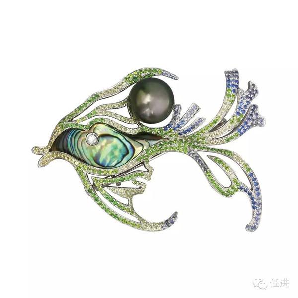 珠宝手绘表现手法