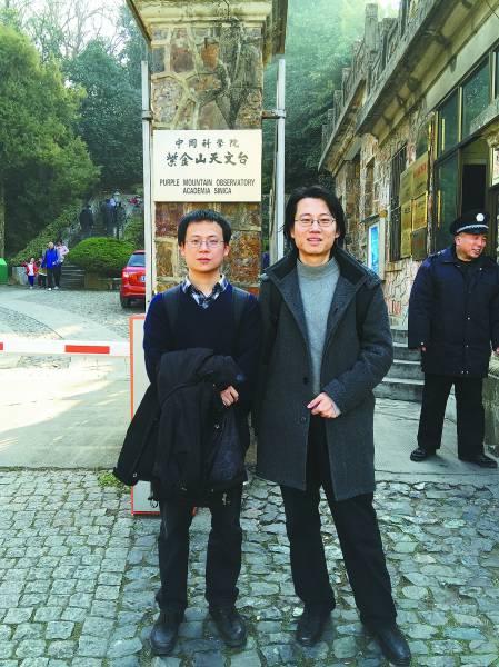 陈云霁(左)和陈天石(右)