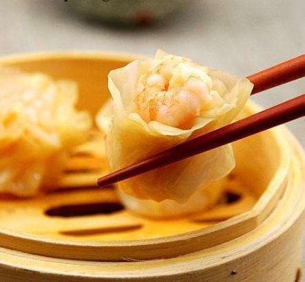 当葡萄酒遇上美食粤菜(干蒸海报)烧卖宣传页美食餐厅图片