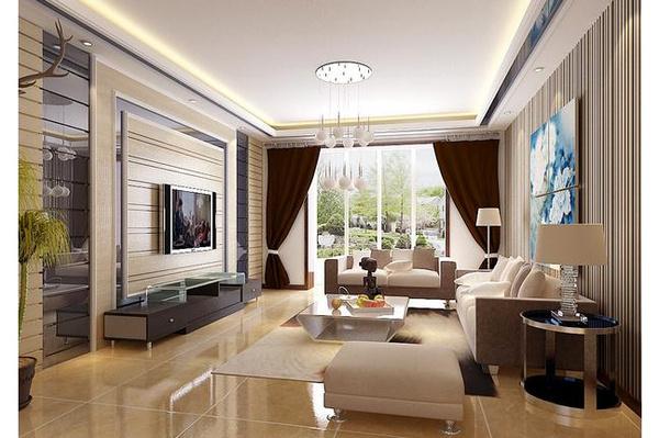 上海别墅装修客厅风水大全