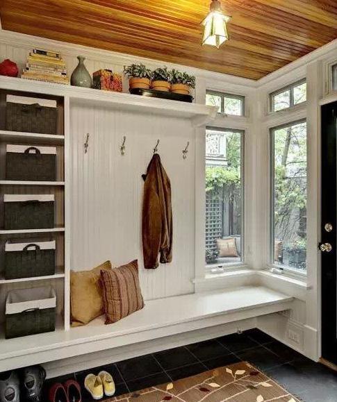 玄关与衣帽间完美切换 小户型大空间