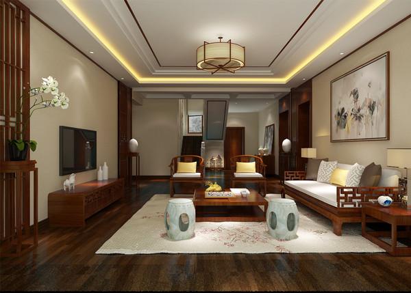 新中式别墅设计案例