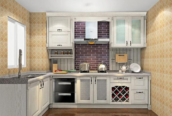 13张欧式厨房装修效果图